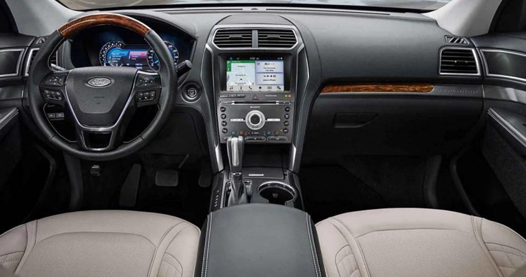 2021 Ford Explorer Sport Trac Interior