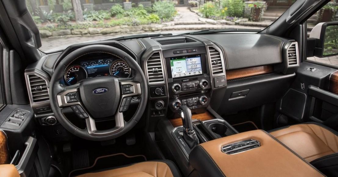 2021 Ford F-150 Raptor Interior