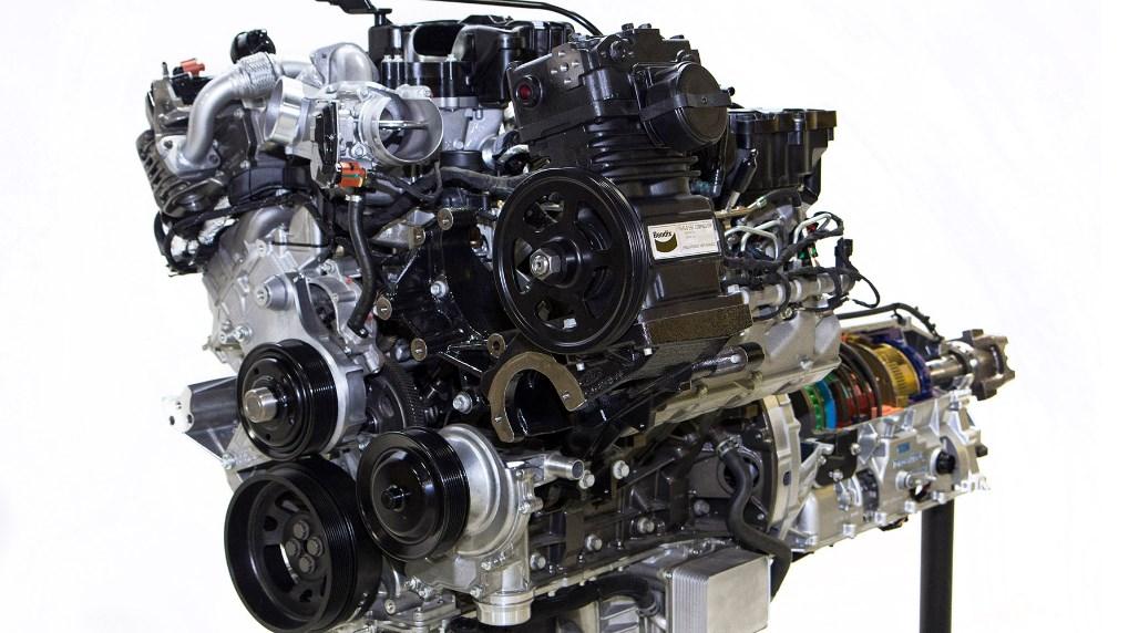 2021 Ford F-650 Supertruck Engine