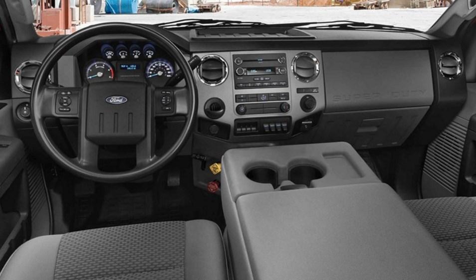 2021 Ford F-650 Supertruck Interior