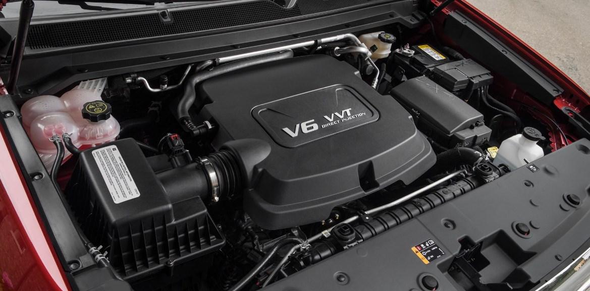 2021 GMC Canyon Engine