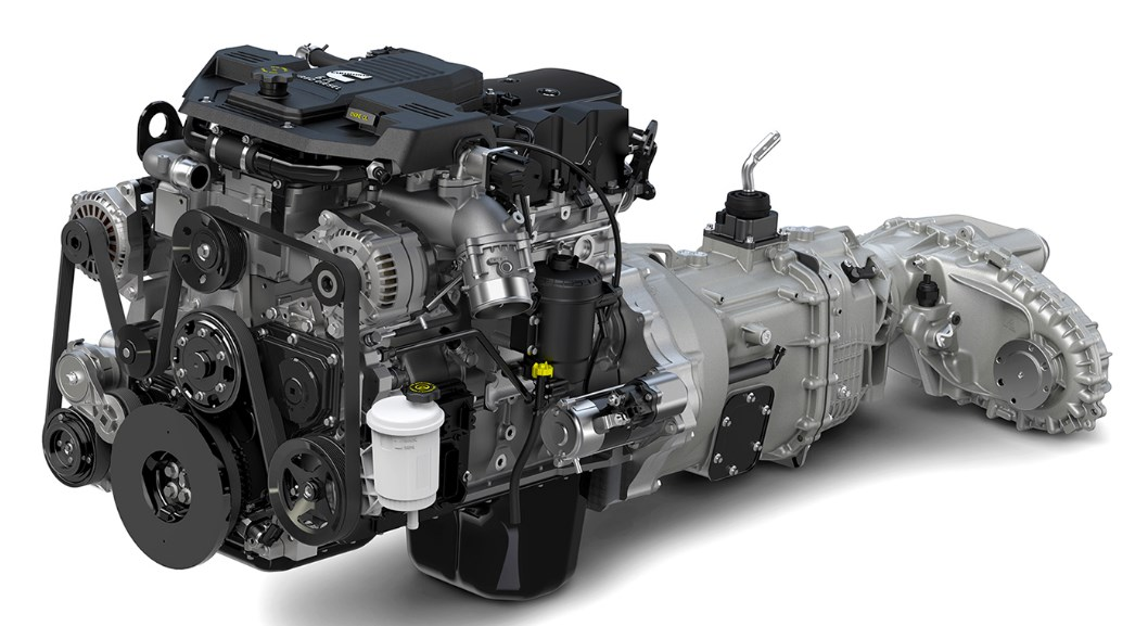 2021 Nissan Frontier Engine
