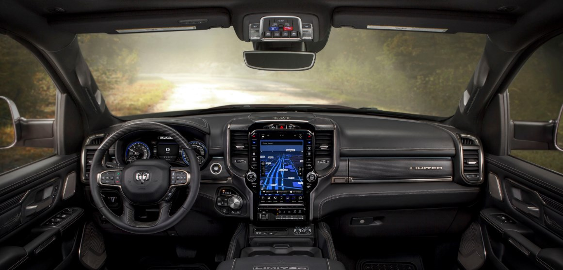 2021 Ram 1500 Laramie Limited Interior