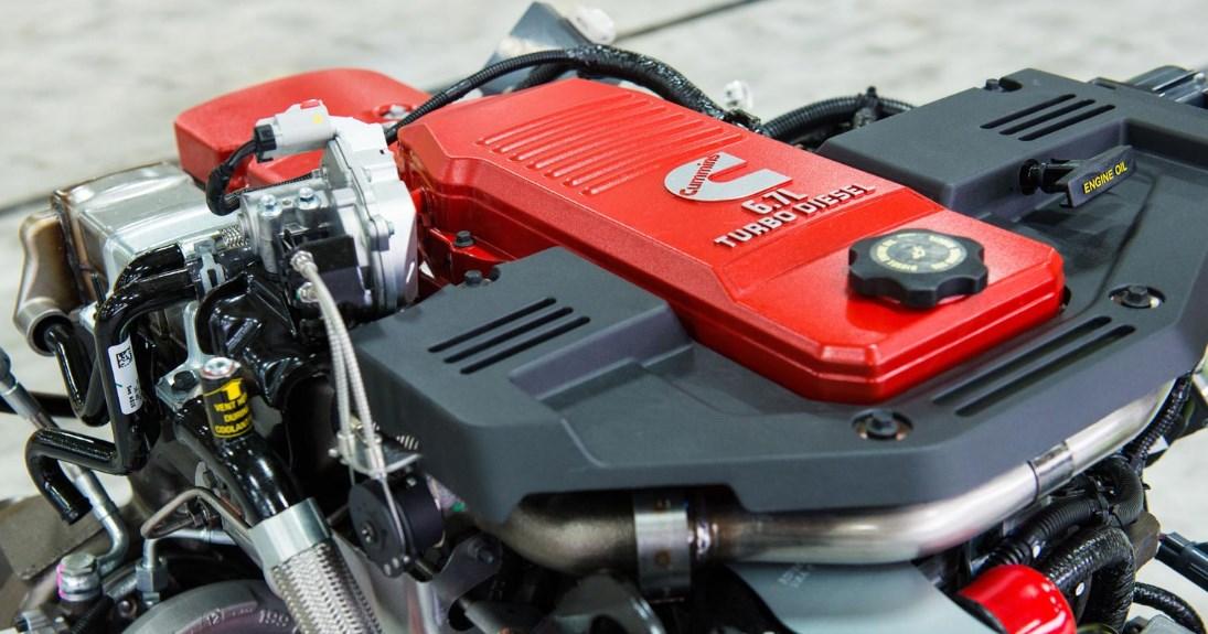 2021 Ram 4500 Engine