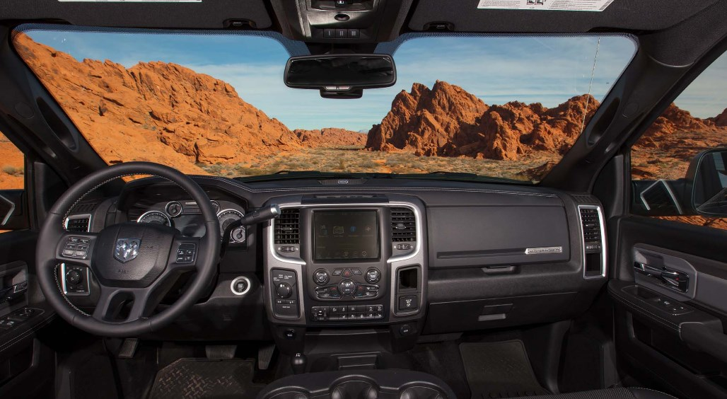 2021 Ram Power Wagon Interior