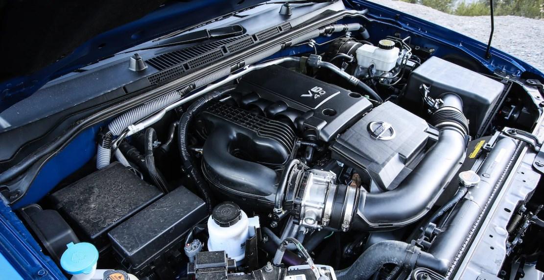 2021 Suzuki Equator Engine