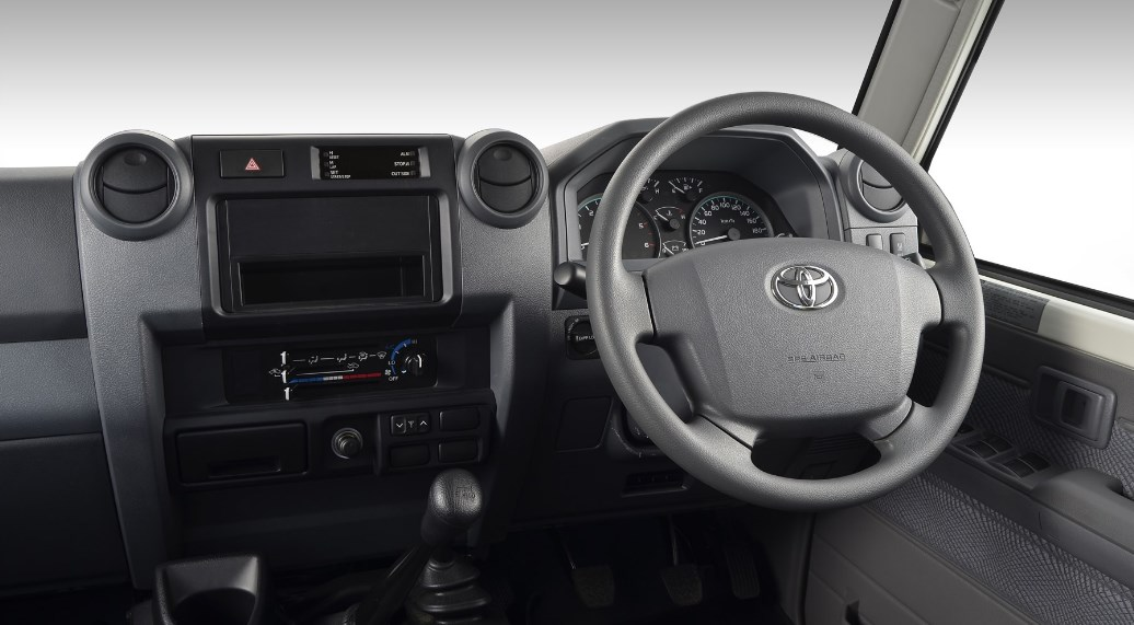 2021 Toyota Land Cruiser 79 Interior
