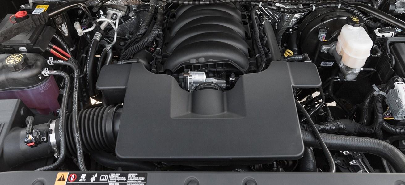 2020 Chevrolet Silverado 1500 Engine