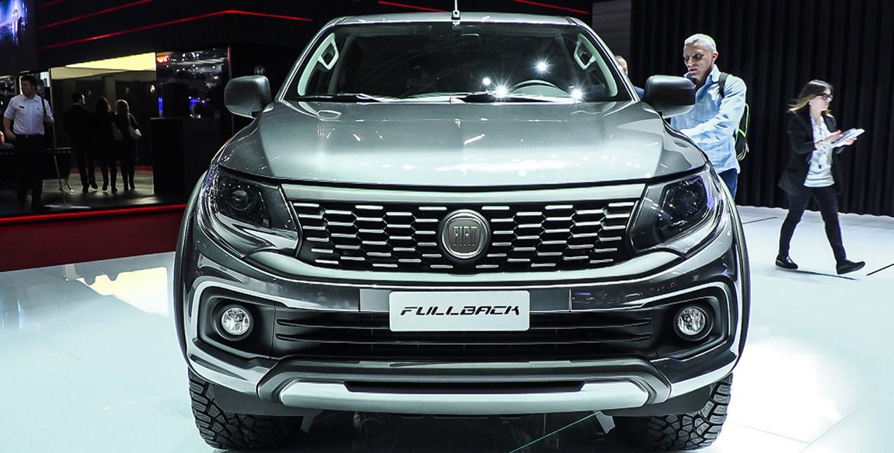 2020 Fiat Fullback Exterior