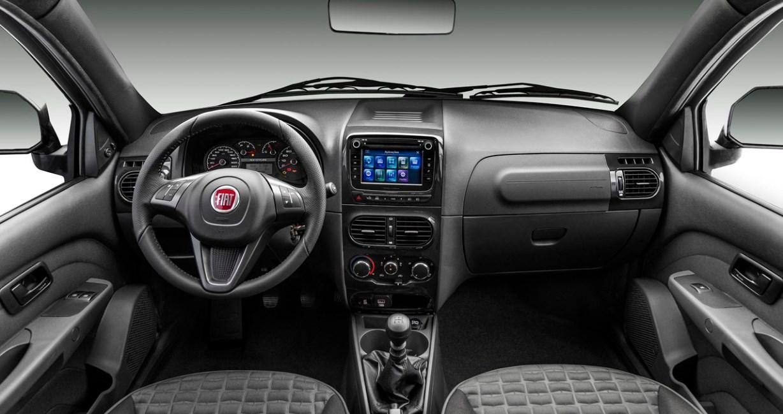 2020 Fiat Strada Interior