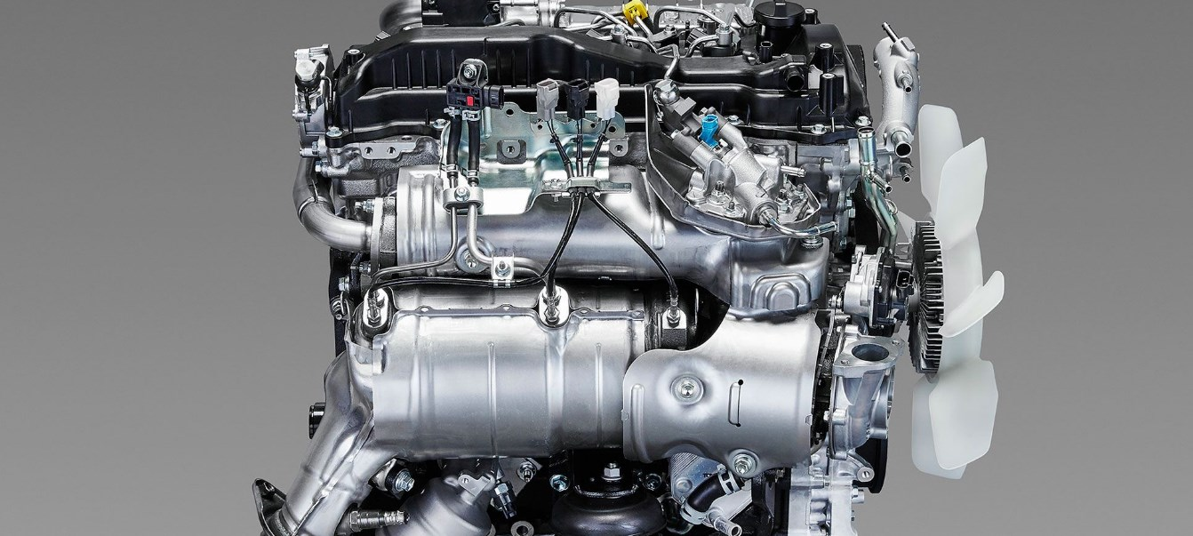 2020 Toyota Hilux Engine
