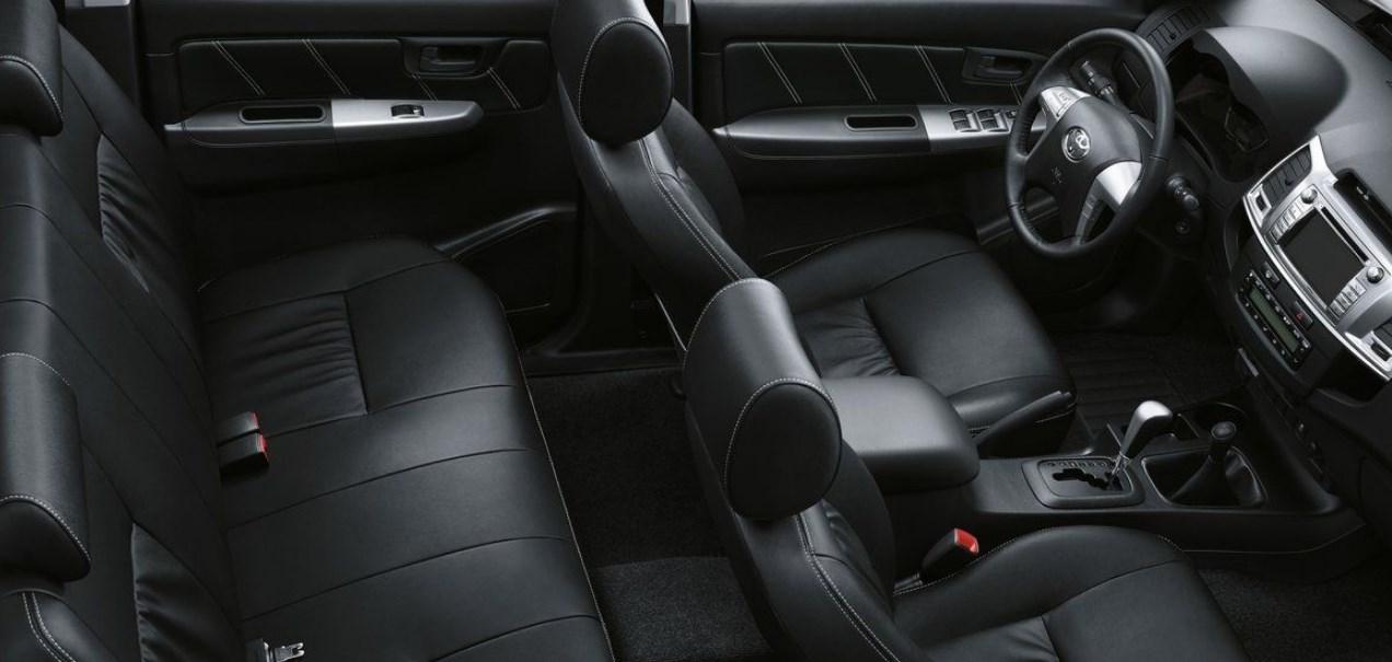 2020 Toyota Hilux Interior