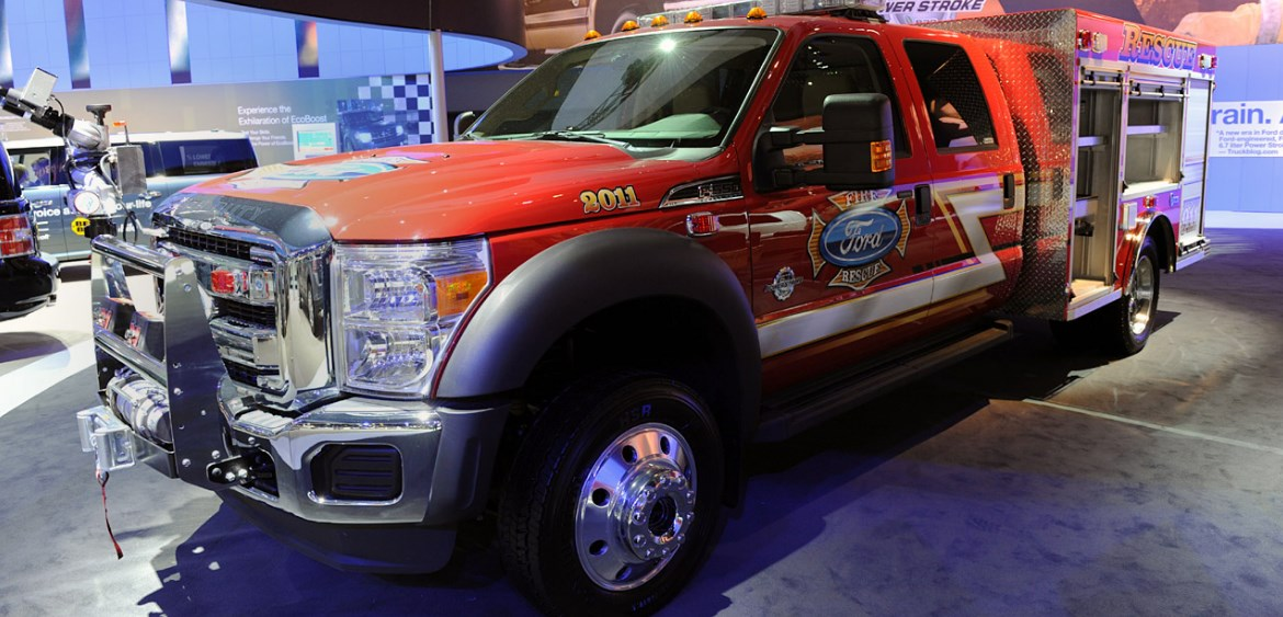 2021 Ford F-550 Exterior