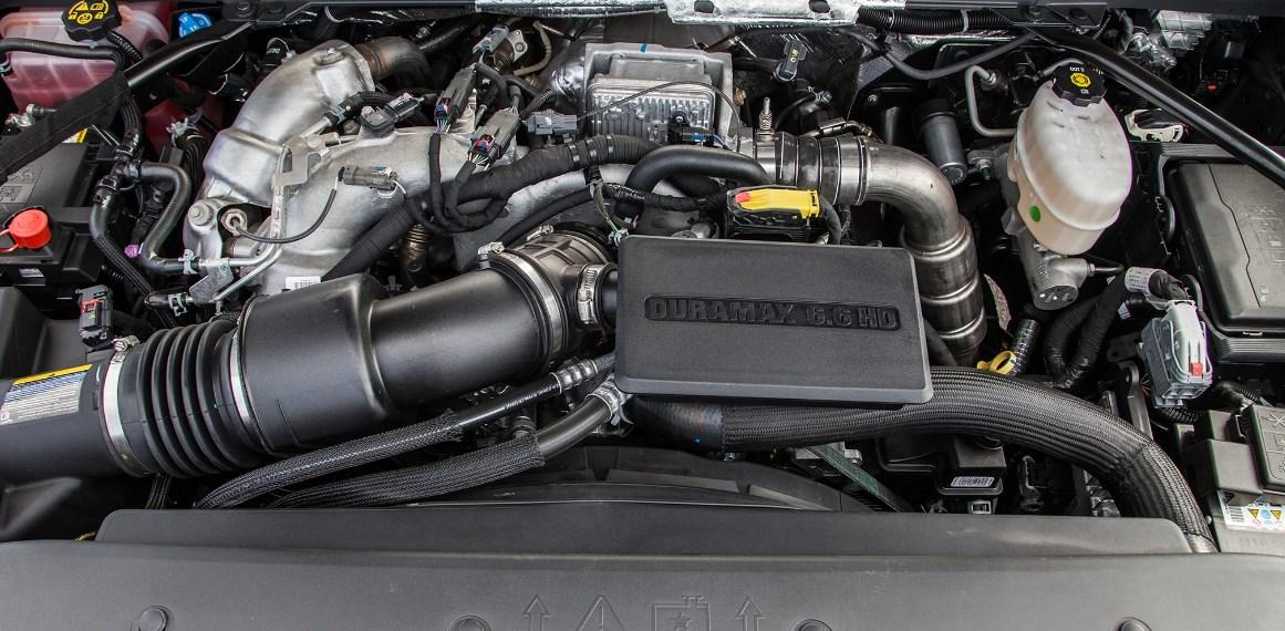 2021 GMC Sierra 3500 Engine