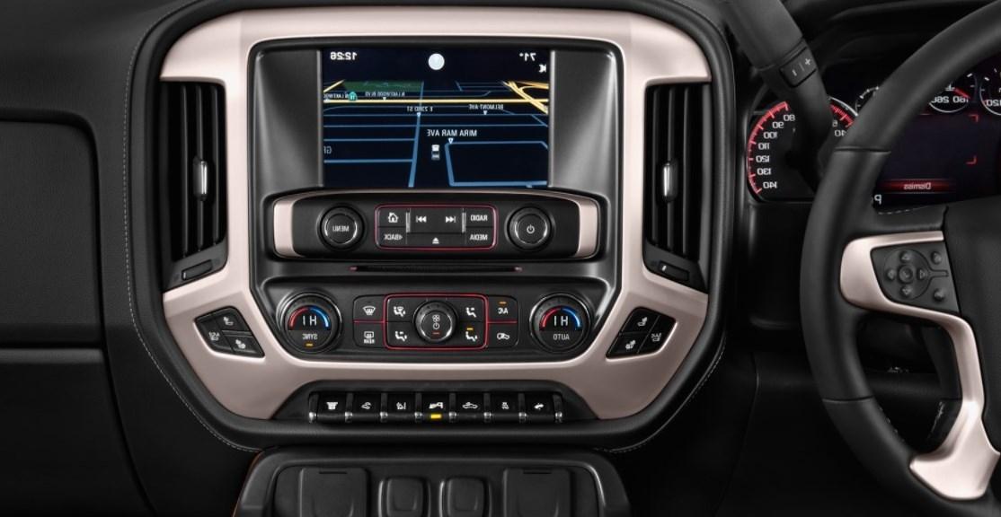 2021 GMC Sierra 3500 Interior
