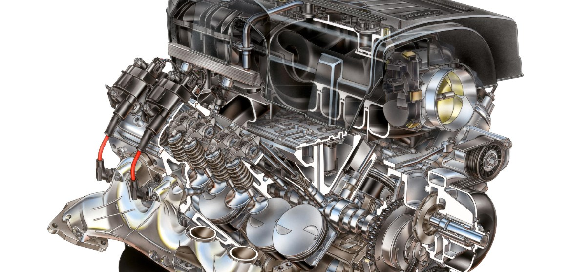 2021 GMC Sierra Hybrid Engine
