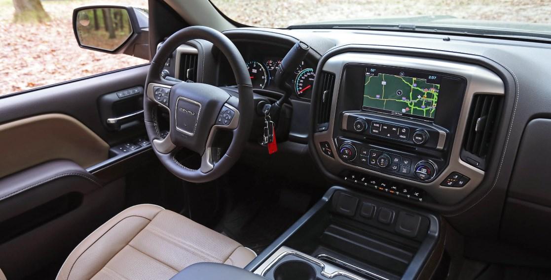 2021 GMC Sierra Hybrid Interior