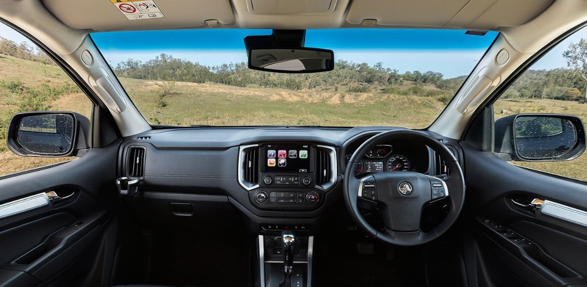 2021 Holden Colorado Interior