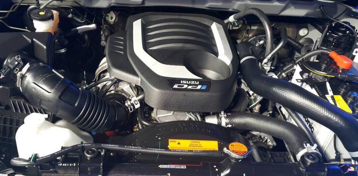 2021 Isuzu D-Max Engine