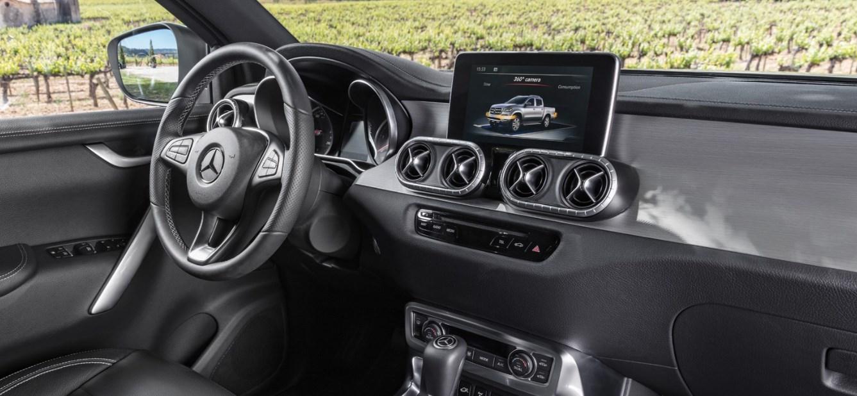 2021 Mercedes-Benz X-Class Interior