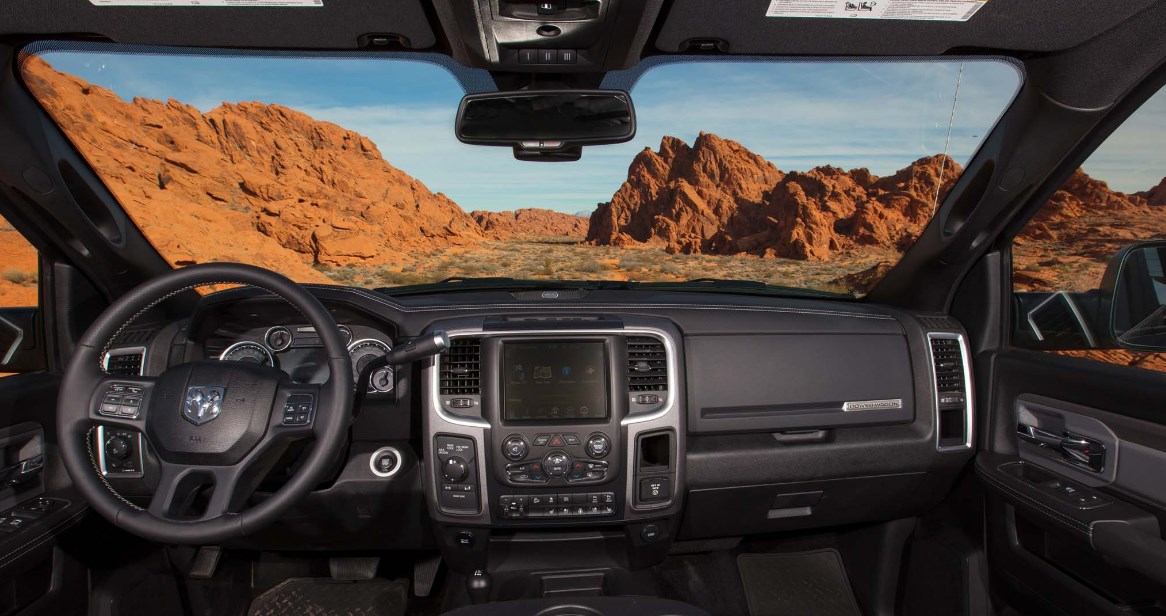 2021 Ram Power Wagon Interior