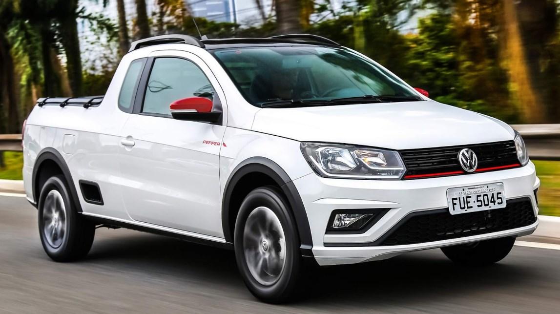 2021 Volkswagen Saveiro Exterior