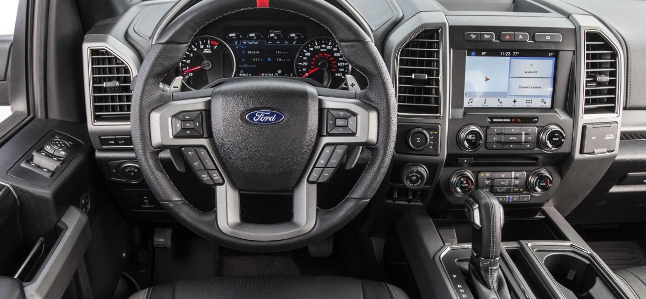 2020 Ford F-150 Raptor Interior