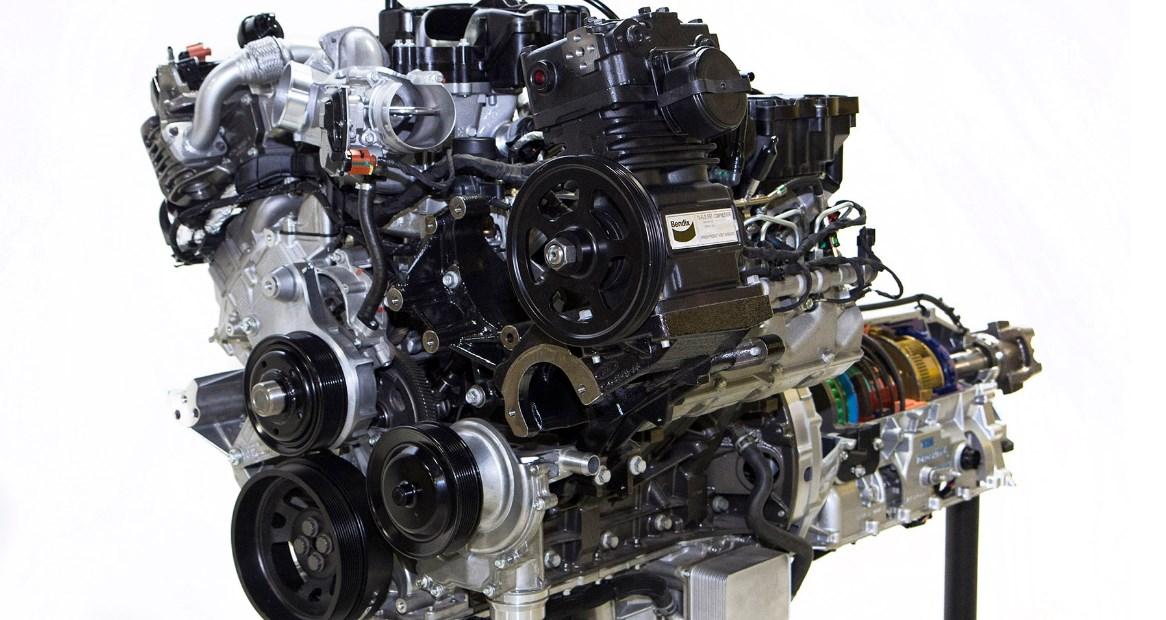 2020 Ford F-750 Engine