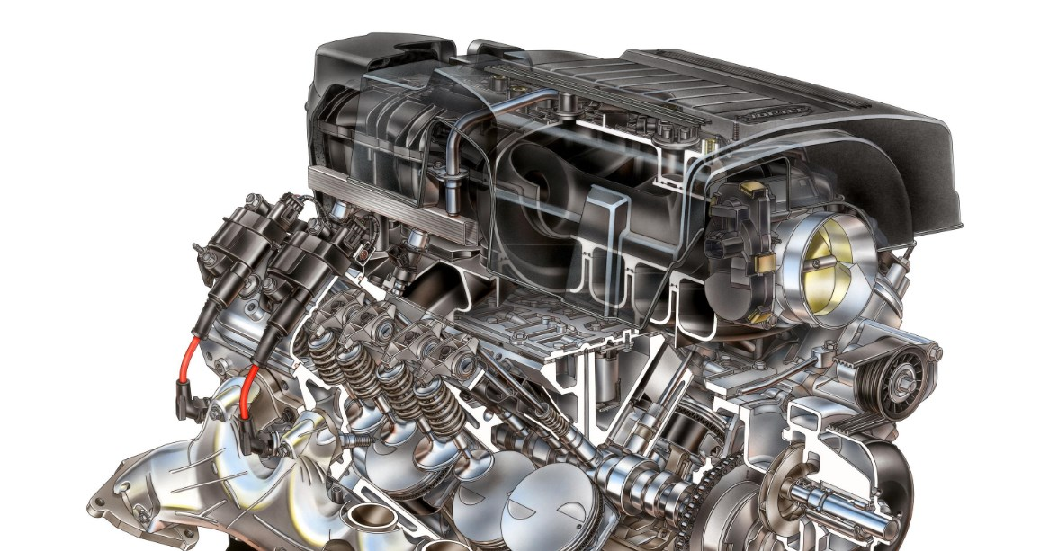 2020 GMC Sierra Hybrid Engine