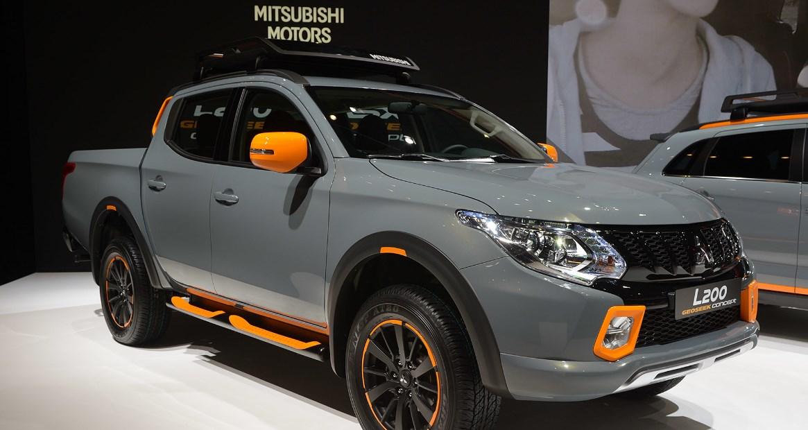2020 Mitsubishi L200 Exterior