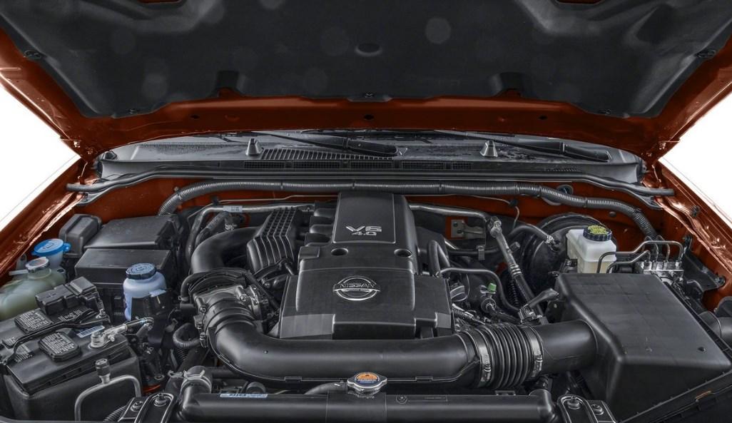 2020 Nissan Frontier Engine