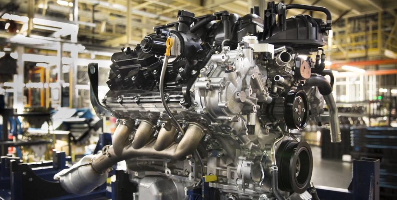 2020 Nissan Titan Warrior Engine