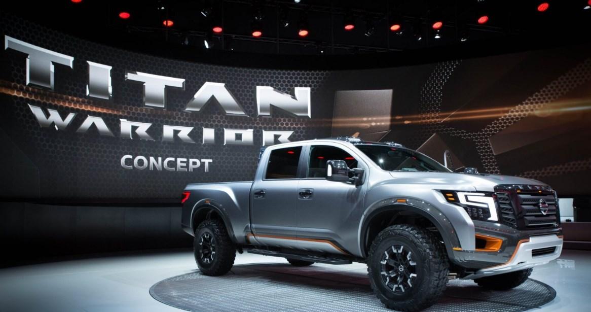 2020 Nissan Titan Warrior Exterior