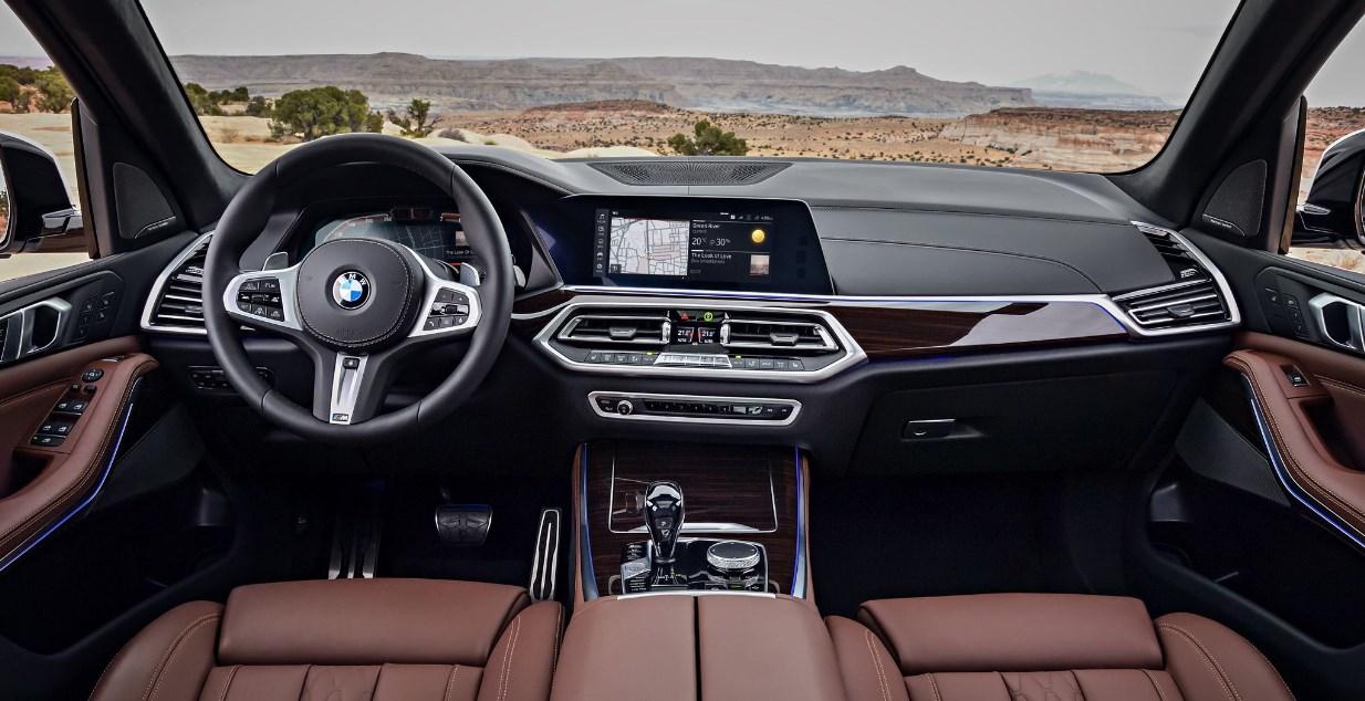 2021 BMW Pickup Truck Interior