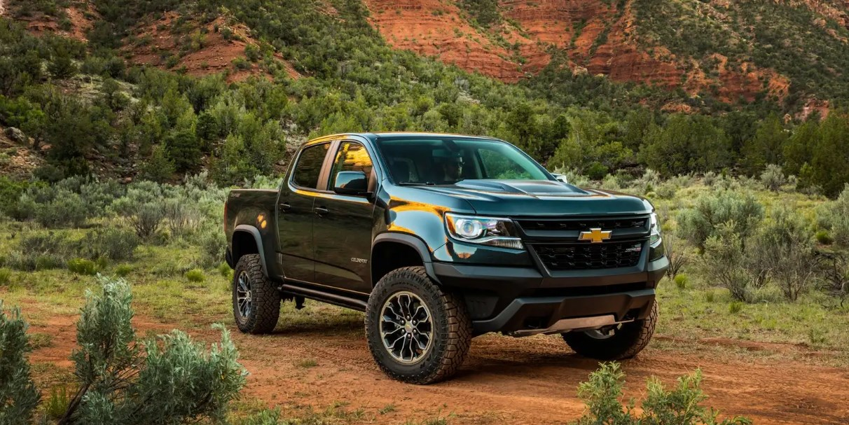 2021 Chevy Colorado Exterior