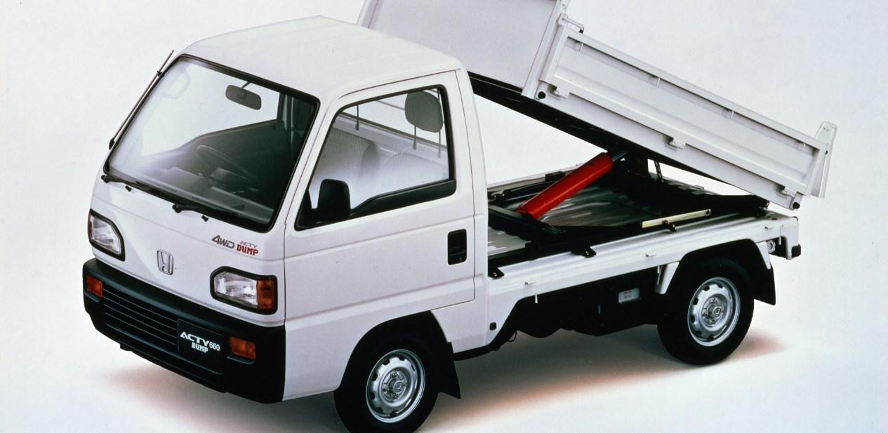 2021 Honda Acty Exterior