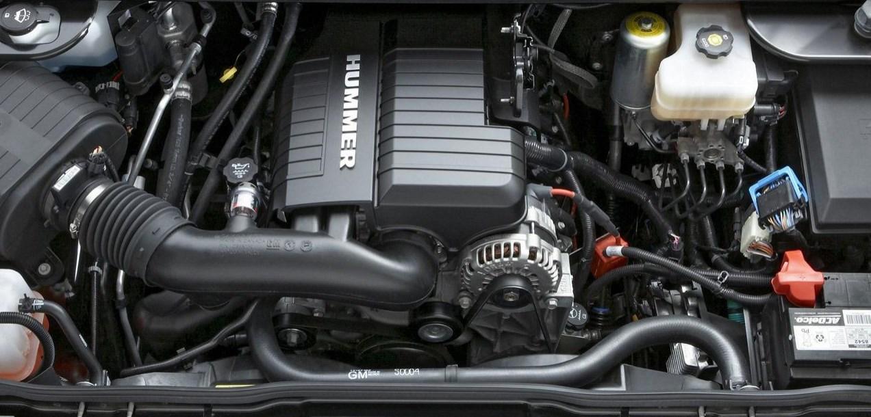 2021 Hummer HX Engine