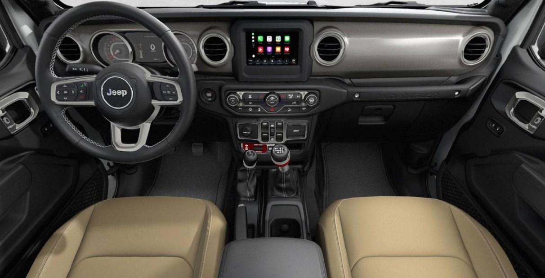 2021 Jeep Scrambler Interior