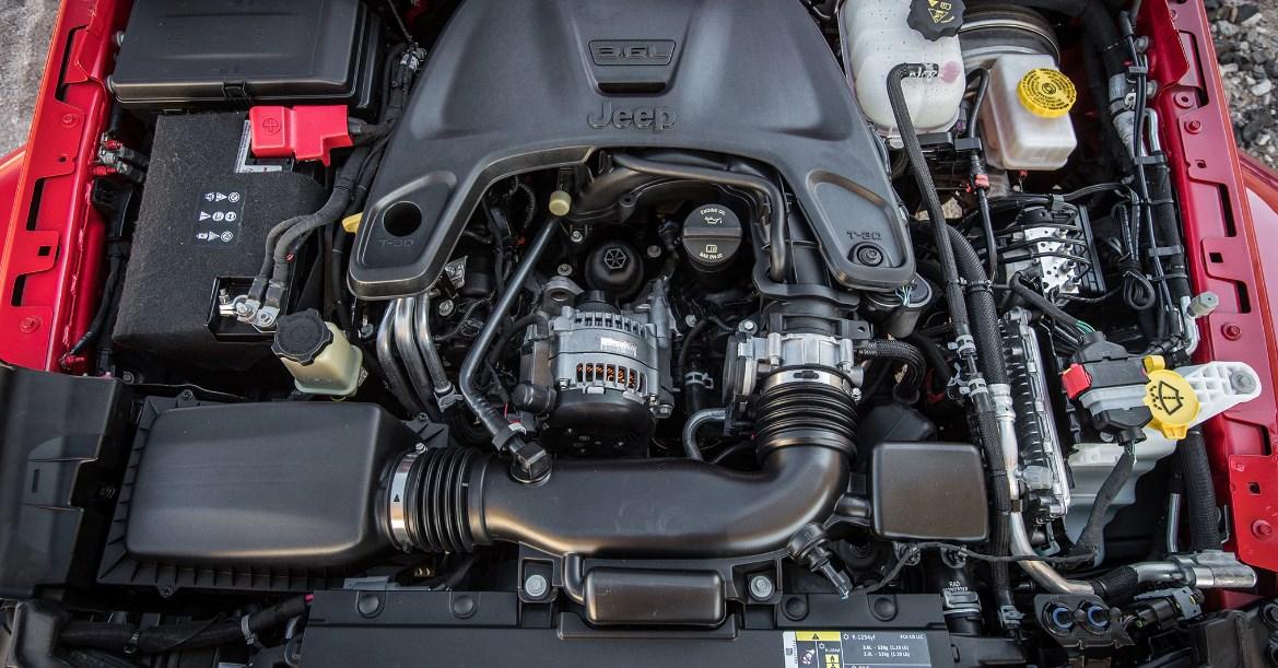 2021 Jeep Wrangler Engine