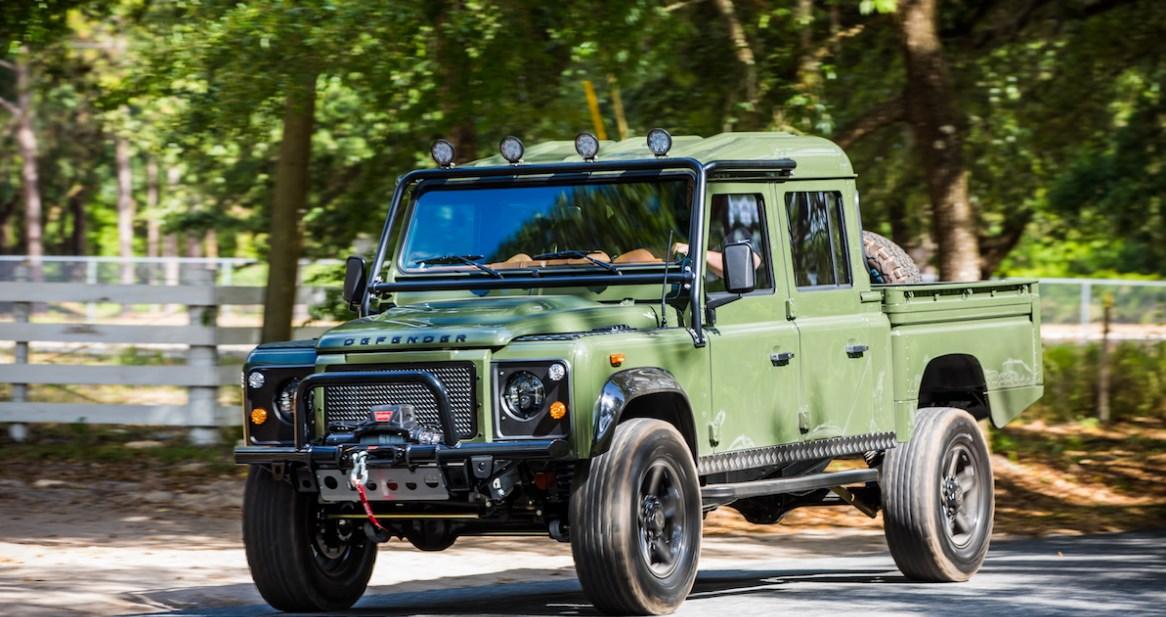 2021 Land Rover Defender Exterior
