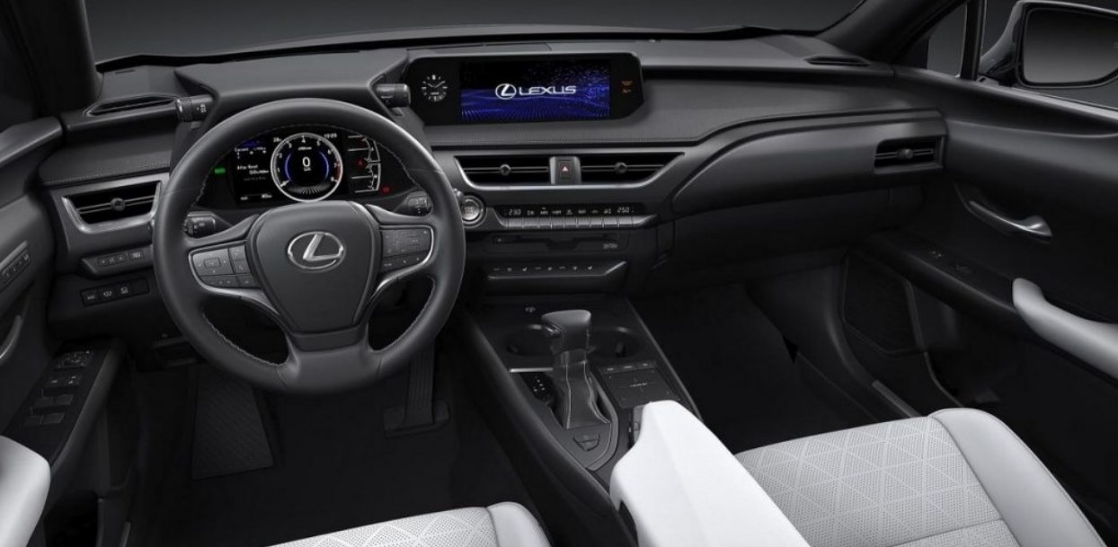 2021 Lexus Pickup Truck Interior