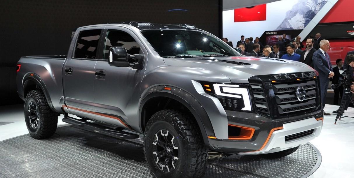 2021 Nissan Titan Warrior Exterior