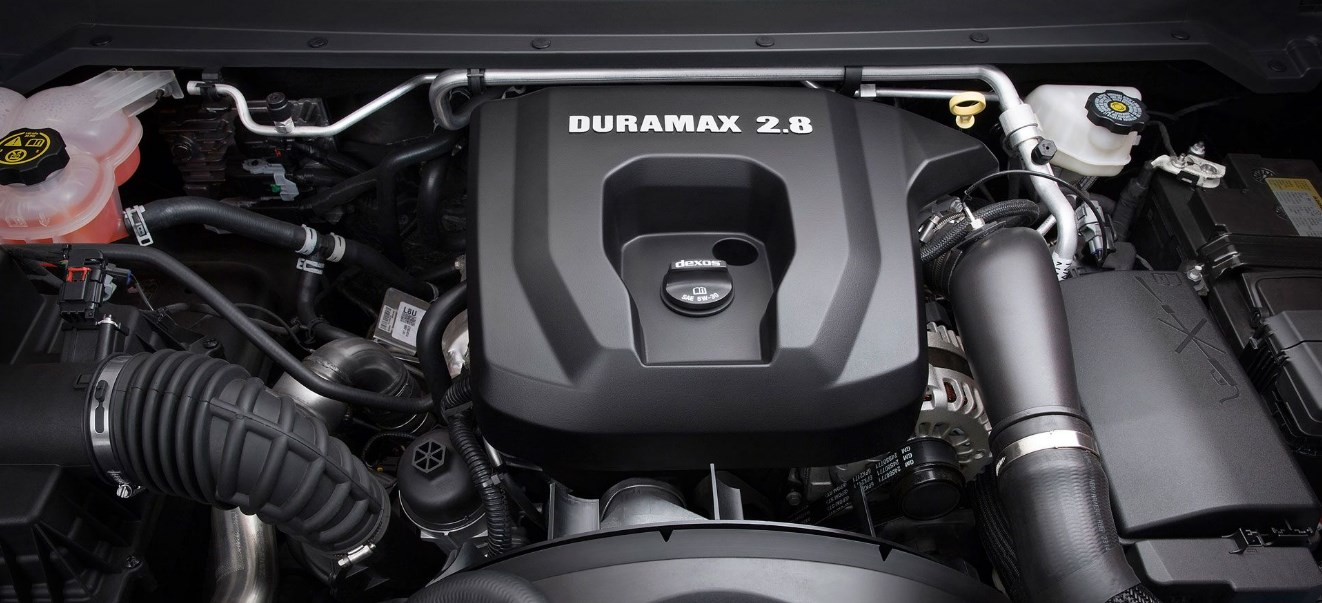 2020 Chevrolet Colorado S-10 Engine