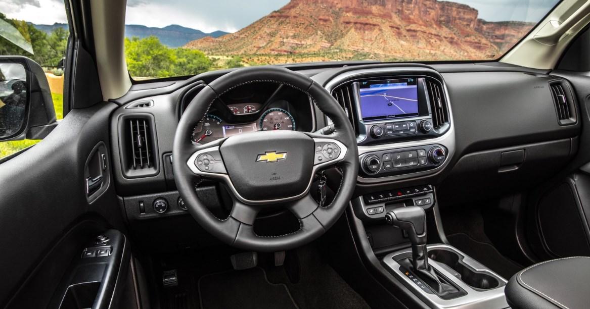 2020 Chevrolet Colorado S-10 Interior