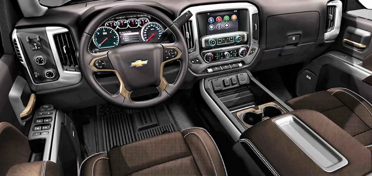 2020 Chevrolet Silverado LT Interior