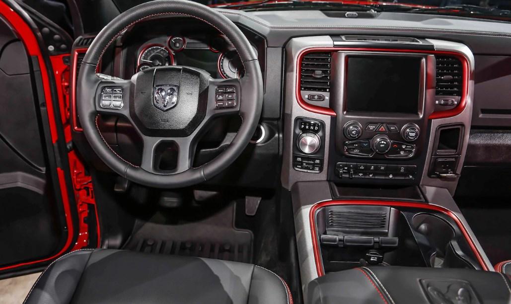 2020 Dodge Rampage Interior