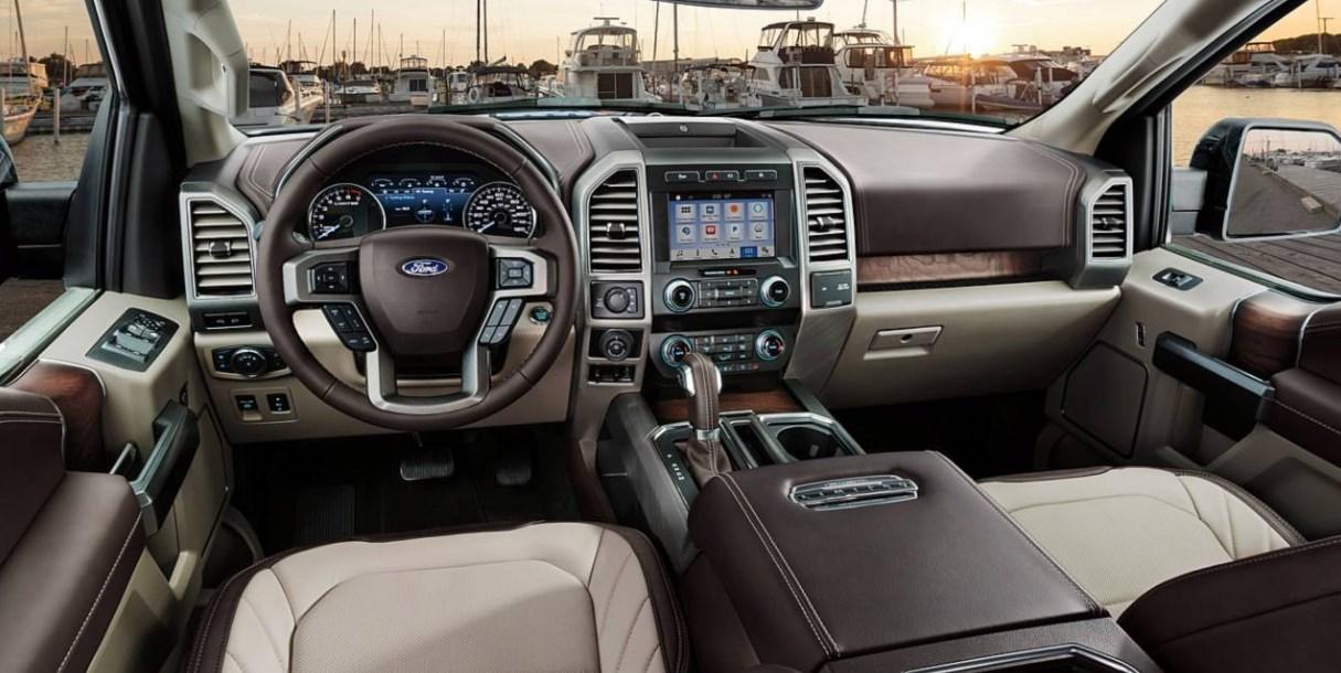 2020 Ford F-150 XLT Interior
