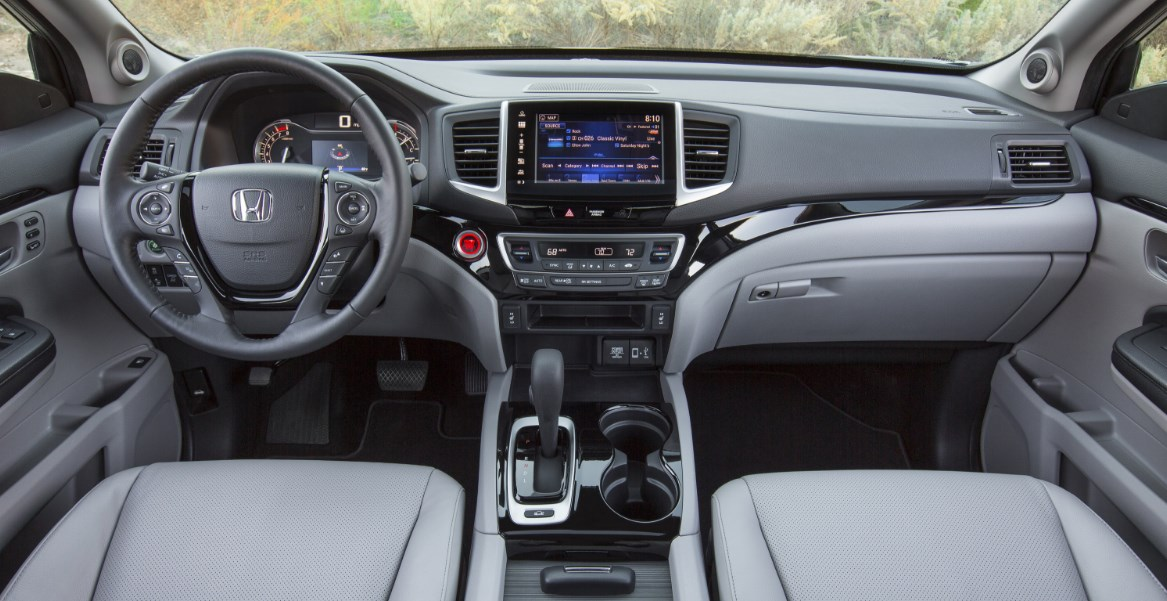 2020 Honda Ridgeline Type R Interior