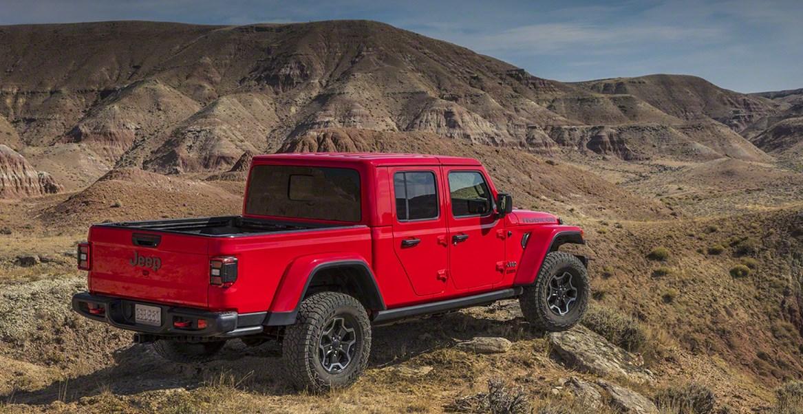 2020 Jeep Gladiator Engine
