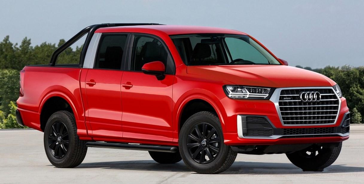 2021 Audi Pickup Truck Concept Exterior
